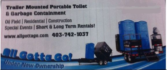 Trailer Mounted Portable Toilet & Garage Containment